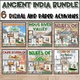 Ancient India Unit Bundle {Digital AND Paper}