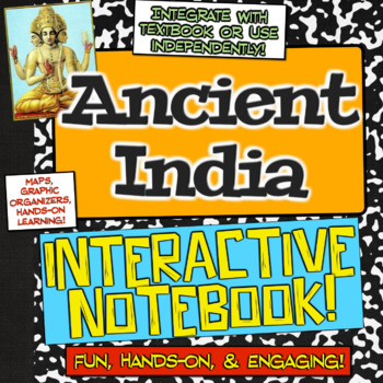 Ancient India Unit Interactive Notebook! Hands-on learning