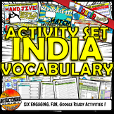 Ancient India Interactive Vocabulary Activity Set Google Ready