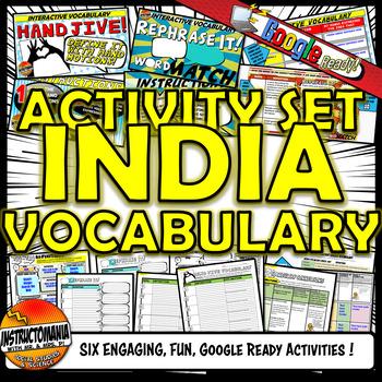 Ancient India Vocabulary Set Mini Bundle
