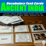 Ancient India Vocabulary Task Cards