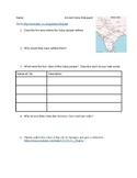 Ancient India Webquest - 6th Grade