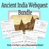 Ancient India Webquest Bundle
