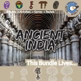 Ancient India -- World History Curriculum Unit Bundle