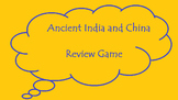 Ancient India and China Review Game