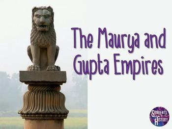 Ancient India's Maurya and Gupta Empires PowerPoint