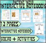 Ancient Indian Civilizations Interactive Notebook