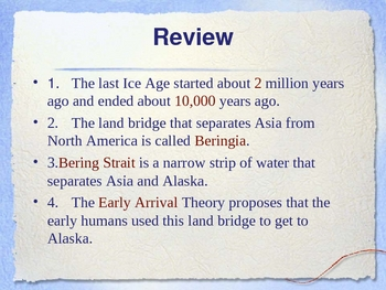 Ancient Indians Powerpoint