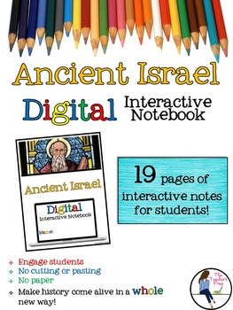 Ancient Israel Digital Interactive Notebook for Google Drive