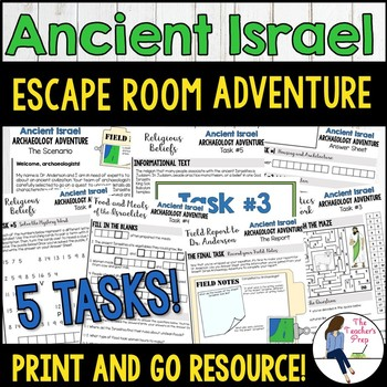 Ancient Israel Escape Room Style Adventure