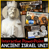 Ancient Israel PowerPoint  Interactive and Google Slides