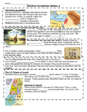 Ancient Israel Notes PT 1 (to go with ppt 1)