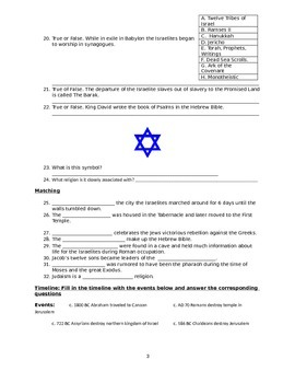 Ancient Israel Study Guide
