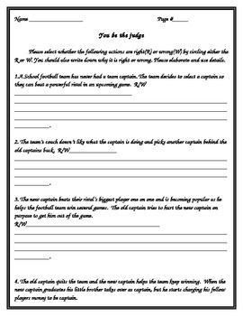 Ancient Israelites you be the judge worksheet(kings)