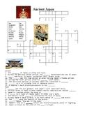 Ancient Japan Crossword or Web Quest
