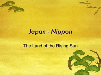 Ancient Japan PowerPoint for High School World and Ancient
