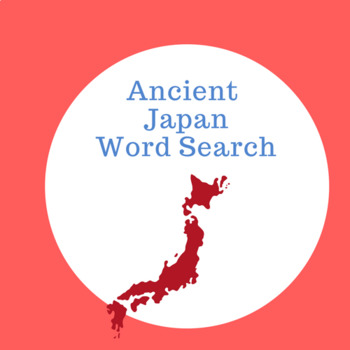 Ancient Japan Word Search