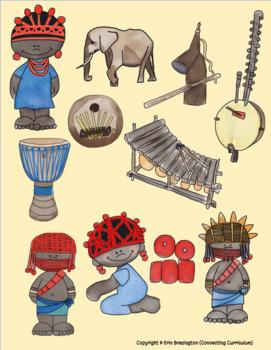 Ancient Kingdom of Benin Topic CLIPART