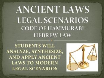 Ancient Laws: Code of Hammurabi Legal Scenarios