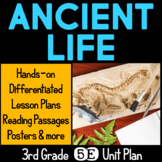 Ancient Life 5E Science Unit Plan for Third Grade
