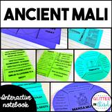 Ancient Mali Interactive Notebook
