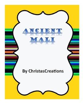 Ancient Mali History & Activities Unit