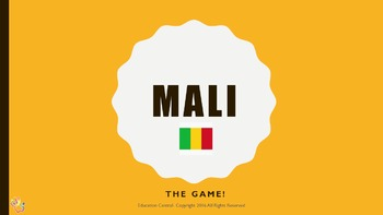 Ancient Mali Review Questions