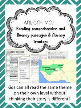 Ancient Mali fluency and comprehension leveled passage