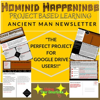 Ancient Man Newsletter - an Editable GOOGLE Newsletter Project