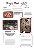 Ancient Maya beliefs