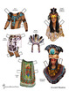 Ancient Mayan Paper People