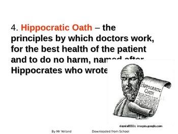 Ancient Medicine Key Word Game