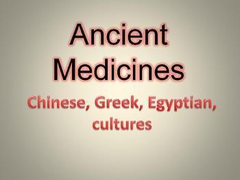 Ancient Medicines