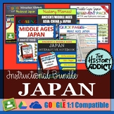 Ancient/Medieval Japan Interactive Notebook Instructional Bundle
