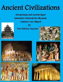 Ancient Mesopotamia/ Ancient Egypt Interactive Notebook