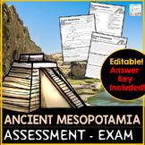 Ancient Mesopotamia Test Review - Ancient Mesopotamia Exam