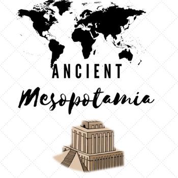 Ancient Mesopotamia Choice Board