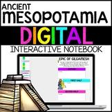 Ancient Mesopotamia Digital Interactive Notebook for Google Drive
