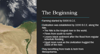 Ancient Mesopotamia, Egypt, and Middle East Civilizations PowerPoint w/ Notes