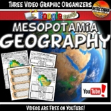 Ancient Mesopotamia Geography YouTube Video Graphic Organi