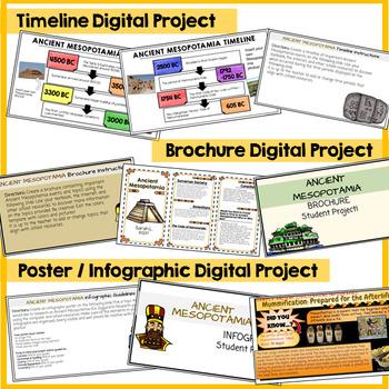 Ancient Mesopotamia Google Classroom Student Projects