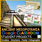 Ancient Mesopotamia Projects | Google Classroom Distance Learning
