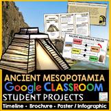 Ancient Mesopotamia Projects Google Classroom