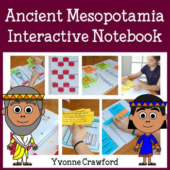 Ancient Mesopotamia Interactive Notebook with Scaffolded Notes