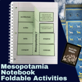 Ancient Mesopotamia Interactive Student Notebook Foldables
