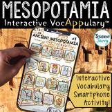 Ancient Mesopotamia Interactive VocAPPulary™ - Mesopotamia
