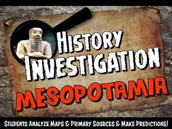Ancient Mesopotamia Investigation History Lesson Stations or Presentation