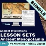 Ancient Mesopotamia Lesson Set Bundle