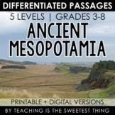 Ancient Mesopotamia: Passages - Distance Learning Compatible
