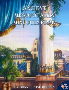 Ancient Mesopotamia Mini Quiz Pack